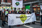 Silent march commemorating victims of the Grenfell Tower fire, Kensington High Street, London - Philip Wolmuth - 2010s,2018,activist,activists,banner,banners,CAMPAIGNING,CAMPAIGNS,cities,City,COMMEMORATE,COMMEMORATING,commemoration,COMMEMORATIONS,commemorative,communities,community,DEMONSTRATING,demonstration,di