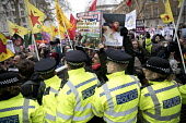 Afrin protesters, March against Racism, UN Anti Racism Day, Stand Up To Racism, London - Jess Hurd - 2010s,2018,activist,activists,adult,adults,Afrin,against,anti racism,anti racist,bigotry,CAMPAIGN,campaigner,campaigners,CAMPAIGNING,CAMPAIGNS,CLJ,DEMONSTRATING,Demonstration,DEMONSTRATIONS,DISCRIMINA