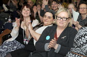 Women trade union members, WTUC 2018, Congress House, London. BMA delegate - Janina Struk - 10-03-2016