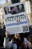 Counter protest by Corbyn supporters. Protest against anti semitism in the Labour Party by the Jewish Leadership Council and The Board of Deputies of British Jews, Parliament Square, London - Jess Hurd - 26-03-2018