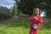 California, USA Children hiding and hunting for Easter eggs the day before Easter, a tradition among many Christian families - David Bacon - 31-03-2017