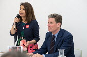 Tulip Siddiq MP and Kier Starmer MP, Camden Labour Party manifesto launch, May local government elections, London - Philip Wolmuth - politics,2010s,2018,BAME,BAMEs,Black,BME,bmes,campaign,campaigning,CAMPAIGNS,candidate,candidates,council,democracy,diversity,election,elections,ethnic,ethnicity,FEMALE,government,husting,hustings,Kei