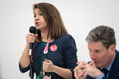 Tulip Siddiq MP and Kier Starmer MP, Camden Labour Party manifesto launch, May local government elections, London - Philip Wolmuth - politics,2010s,2018,BAME,BAMEs,Black,BME,bmes,campaign,campaigning,CAMPAIGNS,candidate,candidates,council,democracy,diversity,election,elections,ethnic,ethnicity,FEMALE,government,husting,hustings,Lab