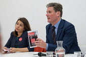 Tulip Siddiq MP and Kier Starmer MP. Camden Labour Party manifesto launch for the May local government elections. - Philip Wolmuth - politics,2010s,2018,campaign,campaigning,CAMPAIGNS,candidate,candidates,council,democracy,election,elections,FEMALE,government,husting,hustings,Labour Party,launch,local,Local Authority,local election