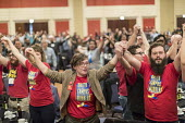 Chicago, USA Labor Notes conference, Members of the UCW at the University of Tennessee joined with three thousand union activists attending the biannual meeting. Labor Notes is an organization of rank... - Jim West - 07-04-2018