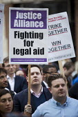 Vigil for Justice defending legal aid, Justice Alliance, Ministry of Justice, London - Jess Hurd - 18-04-2018