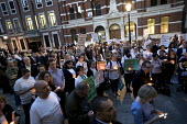 Candlelit Vigil for Justice defending legal aid, Justice Alliance, Ministry of Justice, London - Jess Hurd - 18-04-2018