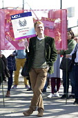 Protest at the derecognition of the UCU by CU Group, Coventry University. CU Group secretly registered its Staff Consultative Group as a union and signed a recognition agreement with it so UCU could n... - John Harris - 18-04-2018