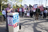 Darrall Cozens UCU speaking, protest at the derecognition of the UCU by CU Group, Coventry University. CU Group secretly registered its Staff Consultative Group as a union and signed a recognition agr... - John Harris - 2010s,2018,activist,activists,against,anti,CAMPAIGNING,CAMPAIGNS,de recognition,DEMONSTRATING,Demonstration,derecognition,Lecturer,Lecturers,member,member members,members,placard,placards,Protest,PROT