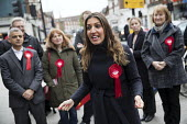 Sadiq Khan campaigning with Dr Rosena Allin-Khan MP and Harriet Harman MP, Labour Party local election campaign, Earlsfield ward, Wandsworth, London - Jess Hurd - 2010s,2018,campaign,campaigning,CAMPAIGNS,candidate,candidates,cities,City,DEMOCRACY,Dr Rosena Allin-Khan,Earlsfield,election,elections,FEMALE,Harriet Harman,Labour,Labour Party,local,London,Mayor,MAY