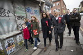 Sadiq Khan campaigning with Dr Rosena Allin-Khan MP and Harriet Harman MP, Labour Party local election campaign, Earlsfield ward, Wandsworth, London - Jess Hurd - 2010s,2018,BAME,BAMEs,Black,BME,bmes,campaign,campaigning,CAMPAIGNS,candidate,candidates,CANVASING,canvassing,cities,City,DEMOCRACY,diversity,Dr Rosena Allin-Khan,Earlsfield,election,elections,ethnic,
