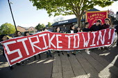 McDonalds workers strike for £10 per hour, an end to zero hours contracts and union recognition on International Workers Day, Cambridge - Jess Hurd - 2010s,2018,£10 per hour,ACTIVIST,ACTIVISTS,against,banner,banners,BFAWU,Cambridge,campaign,campaigner,campaigners,campaigning,CAMPAIGNS,catering,contract,contracts,DEMONSTRATING,demonstration,DEMONST