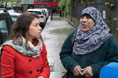 Tulip Siddiq MP. Labour Party local election campaign, Fortune Green, West Hampstead and Swiss Cottage wards, London Borough of Camden. - Philip Wolmuth - 2010s,2018,BAME,BAMEs,Black,BME,bmes,campaign,campaigning,CAMPAIGNS,candidate,candidates,CANVASING,canvassing,Cottage,COTTAGES,council,democracy,diversity,election,elections,electorate,ethnic,ethnicit
