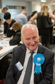 Conservative council leader Richard Cornelius. London Borough of Barnet local election count. - Philip Wolmuth - 04-05-2018