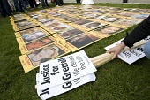 Pictures of those who died in Grenfell Tower. Justice for Grenfell rally outside the Parliamentary debate, Parliament Square, Westminster, London. - Jess Hurd - 2010s,2018,activist,activists,against,BAME,BAMEs,Black,Black and White,BME,bmes,CAMPAIGN,campaigner,campaigners,CAMPAIGNING,CAMPAIGNS,dead,death,DEATHS,debate,DEBATING,DEMONSTRATING,demonstration,DEMO