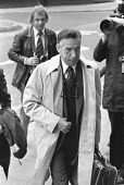 Peter Bessell, former Liberal MP and witness at the trial of Jeremy Thorpe for conspiracy to murder Norman Scott arriving at the Old Bailey, London 1979 - Martin Mayer - 10-05-1979