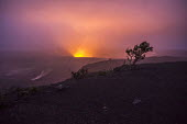 Big Island, Hawaii: Eruption of the Kilauea volcano begins as lava in the caldera of the active volcano starts rising - David Bacon - 23-02-2018