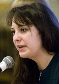National People's Assembly conference London. Amelia Womack Deputy Leader Green Party - Stefano Cagnoni - 2010s,2018,activist,activists,Amelia Womack,Assembly,austerity,CAMPAIGN,campaigner,campaigners,CAMPAIGNING,CAMPAIGNS,conference,conferences,DEMONSTRATING,demonstration,FEMALE,Green Party,Leader,Left,l