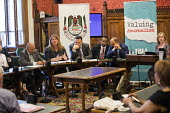 Palestinian journalists under attack: NUJ public meeting in Parliament, Michelle Stanistreet NUJ and representatives from the Palestinian Journalists Syndicate. Chaired by Liz Saville Roberts MP, Plai... - Jess Hurd - 04-07-2018