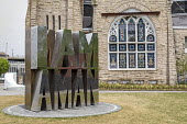 Memphis, Tennessee, USA: I Am A Man Plaza commemorating the 1968 sanitation strike and the assasination of Martin Luther King Jr. It is next to the Clayborn Temple where civil rights leaders were base... - Jim West - 25-04-2018