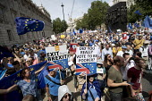 Liberal Democrats, People's Vote March, Pro EU protest against Brexit and for a referendum on the final deal, London - Jess Hurd - 23-06-2018