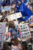 People's Vote March, Pro EU protest against Brexit and for a referendum on the final deal, London - Jess Hurd - 23-06-2018