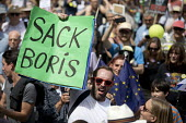Sack Boris Johnson placard, People's Vote March, Pro EU protest against Brexit and for a referendum on the final deal, London - Jess Hurd - 2010s,2018,activist,activists,against,Best for Britain,Boris Johnson,Brexit,campaign,campaigner,campaigners,campaigning,CAMPAIGNS,democracy,DEMONSTRATING,demonstration,DEMONSTRATIONS,EU,European Movem