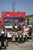 Firefighters deployed to Saddleworth Moor fire, Stalybridge, Derbyshire - Jess Hurd - 2010s,2018,adult,adults,break,break time,breaktime,Derbyshire,DIA,Emergency Services,employee,employees,Employment,fire,Fire and Rescue,Fire and Rescue Service,fire brigade,Firefighter,firefighters,Fi