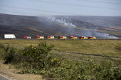 Fire and Rescue deployed to Saddleworth Moor fire, Stalybridge, Derbyshire - Jess Hurd - 2010s,2018,adult,adults,burn,burning,BURNS,country,countryside,Derbyshire,DIA,Emergency Services,fire,Fire AND Rescue,Fire and Rescue Service,fire brigade,Fire Engine,Firefighter,firefighters,Firefigh