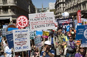 NHS 70th Anniversary protest - free, for all, forever, London - Jess Hurd - People's Assembly Against Austerity,2010s,2018,70th,activist,activists,Anniversary,Anti privatisation,Anti privatisation,anti privatization,Austerity Cuts,campaign,campaigning,CAMPAIGNS,DEMONSTRATING,