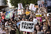 Together Against Trump protest against the visit to the UK by US President Donald Trump, London - Jess Hurd - 13-07-2018