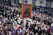 Durham Miners Gala, 2018 - Mark Pinder - 2010s,2018,ACE,Arts,bands,banner,banners,Brass Band,County Durham,Culture,DMA,Durham Miners Gala,Durham Miners' Gala,melody,member,member members,members,MINER,Miners,MINER'S,music,MUSICAL,musical ins