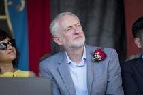Jeremy Corbyn, Durham Miners Gala, 2018 - Mark Pinder - 2010s,2018,County Durham,DMA,Durham Miners Gala,Durham Miners' Gala,Jeremy Corbyn,Labour Party,member,member members,members,MINER,Miners,MINER'S,MP,MPs,NUM,politician,politicians,SPEAKER,SPEAKERS,spe