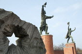 Soviet era statues relocated to Memento Park Museum, Budapest, Hungary - Janina Struk - 02-01-2014