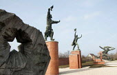 Soviet era statues relocated to Memento Park Museum, Budapest, Hungary - Janina Struk - 2010s,2014,ACE,art,arts,artwork,artworks,CCCP,Cold War,communism,Communist Party,communists,culture,disgarded,Eastern Europe,fall of communism,hero,heroes,heroic,historical,history,Hungary,icon,iconic