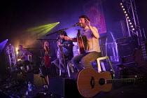 Lankum performing, Tolpuddle Martyrs' Festival, Dorset 2018 - Jess Hurd - 21-07-2018