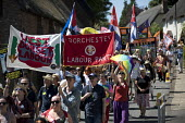 Tolpuddle Martyrs' Festival, Dorset 2018. - Jess Hurd - 2010s,2018,banner,banners,COMMEMORATE,COMMEMORATING,commemoration,COMMEMORATIONS,commemorative,Dorset,Festival,festivals,Labour Party,male,man,member,member members,members,men,PEOPLE,person,persons,P