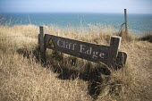 Cliff edge, Beachy Head, a Chalk headland and suicide spot, East Sussex. There are an estimated 20 deaths by suicide a year at Beachy Head - Jess Hurd - 2010s,2018,attraction,Beachy Head,Chalk,cliff,Cliff edge,cliffs,COAST,coastal,coasts,committed,committing,country,countryside,danger,dangerous,dangers,death,deaths,died,East Sussex,edge,eroded,erosion