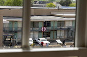 Memphis, Tennessee USA The National Civil Rights Museum at the Lorraine Motel, where Martin Luther King was assassinated in 1968. The view of Room 306 where King died from the boarding house across th... - Jim West - 25-04-2018