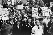 Health workers and patient funeral for the NHS protest, Gloucester 1987 - John Harris - 19-12-1987