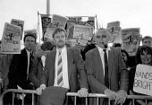Dave Nellist, Terry Fields expelled from Labour Party, 1991, Militant Tendency protest Labour Party Conference - John Harris - 01-10-1991