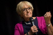 Margaret Hodge in conversation with Jonathan Freedland Jewish Labour Movement Conference, London - Jess Hurd - 02-09-2018