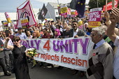 Anti fascist March for Unity counter protest against EDL national protest, Worcester - Jess Hurd - 2010s,2018,activist,activists,against,anti,anti fascist,Anti Racism,anti racist,Asian,Asians,BAME,BAMEs,banner,banners,BEMM,BEMMS,Black,Black and White,BME,bmes,CAMPAIGN,campaigner,campaigners,CAMPAIG