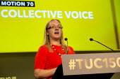 Kate Hudson CWU speaking TUC Congress Manchester 2018 - John Harris - 2010s,2018,CWU,FEMALE,Manchester,people,person,persons,SPEAKER,SPEAKERS,speaking,SPEECH,trade union,trade unions,trades union,trades unions,TUC,woman,women