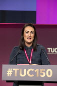 Fiona Curtis CWU speaking TUC Congress Manchester 2018 - John Harris - 2010s,2018,Conference,conferences,CWU,Manchester,SPEAKER,SPEAKERS,speaking,SPEECH,trade union,trade unions,trades union,trades unions,TUC,TUC Congress