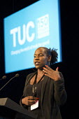 Shakira Martin NUS speakingTUC Congress Manchester 2018 - John Harris - 2010s,2018,Conference,conferences,Manchester,NUS,TUC Congress