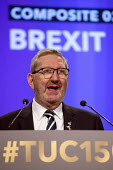 Len McCluskey speaking TUC Congress Manchester 2018 - John Harris - 2010s,2018,Conference,conferences,gen sec,Manchester,SPEAKER,SPEAKERS,speaking,SPEECH,trade union,trade unions,trades union,trades unions,TUC,TUC Congress
