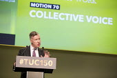 Mike Clancy , Prospect speaking TUC Congress, Manchester 2018 - Jess Hurd - 10-09-2018