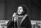 Northern Ireland civil rights leader Eamonn McCann speaking, London, 1976 meeting to commemorate Bloody Sunday - Peter Arkell - 1970s,1976,activist,activists,against,Blood Sunday,Bloody,campaign,campaigner,campaigners,campaigning,CAMPAIGNS,Civil Rights,commemorate,COMMEMORATING,commemoration,COMMEMORATIONS,commemorative,DEMONS