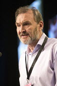 Kevin Courtney NEU NUT speaking TUC conference 2018 Manchester - John Harris - 10-09-2018
